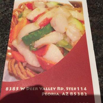 Dao Kitchen Deer Valley Menu