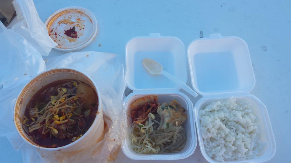 Seor ak san 158 foto cucina coreana chinatown for Cucina coreana