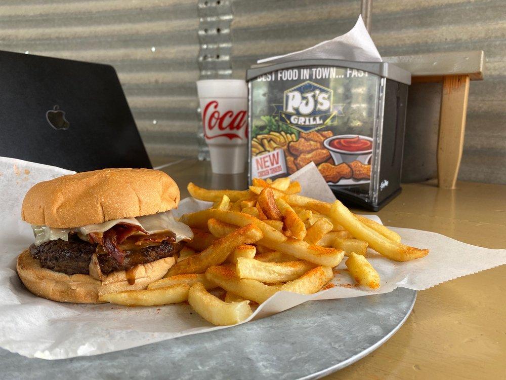 PJ's Grill: 2021 N Parkerson Ave, Crowley, LA
