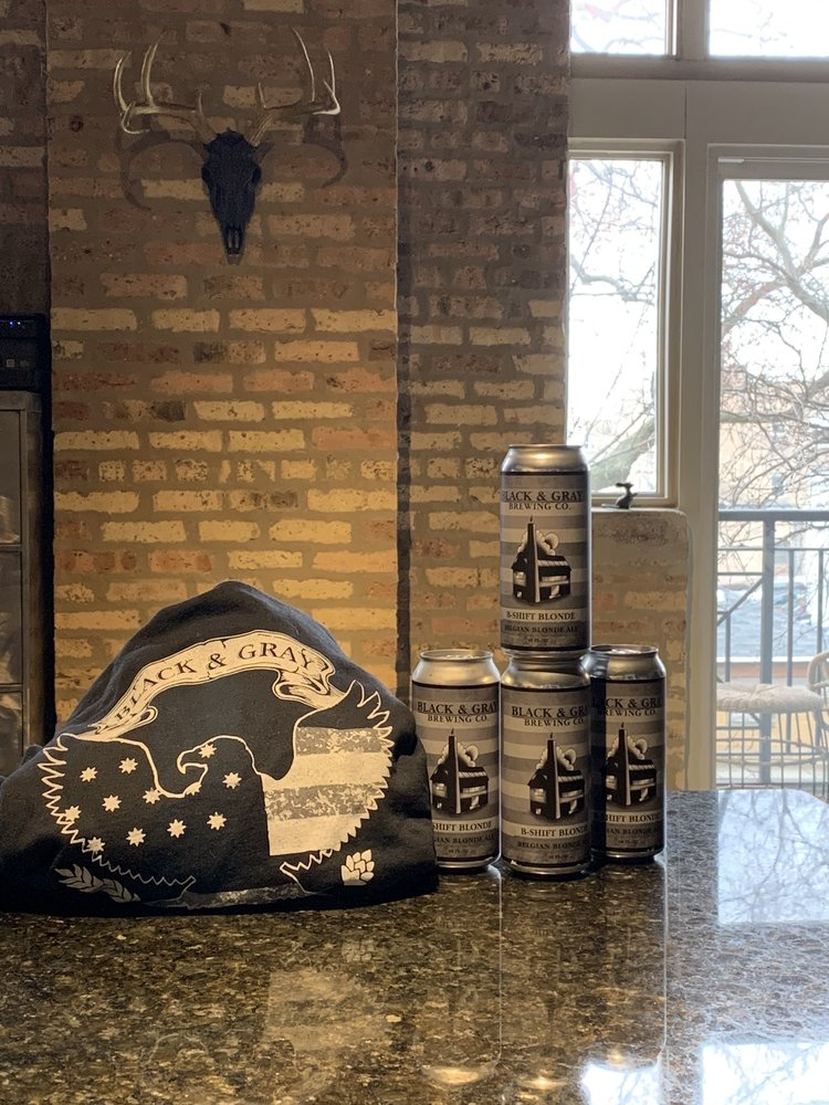 Black and Gray Brewing: 311 Barrington Ave, East Dundee, IL