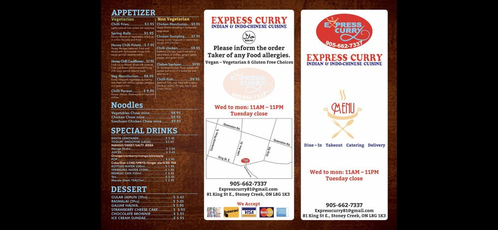 Express Curry Indian & Indo-Chinese Restaurant - 14 Photos