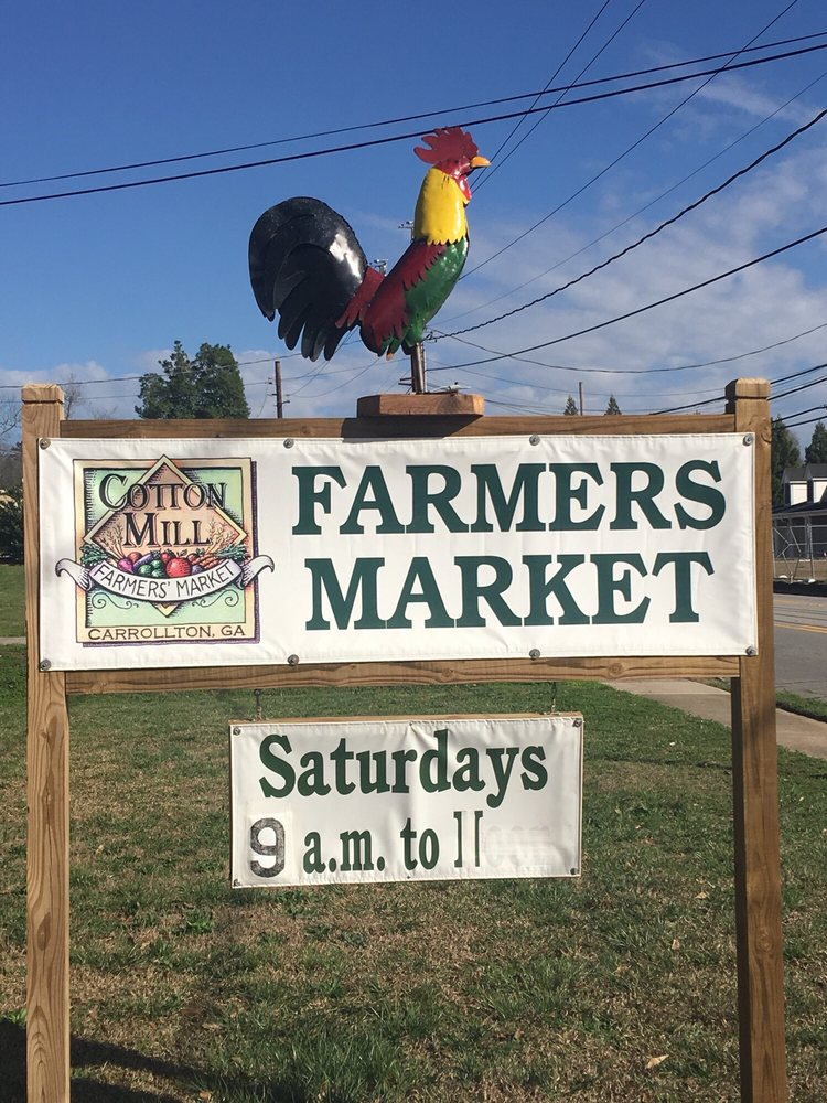 Cotton Mill Farmers Market: 609 Dixie St, Carrollton, GA