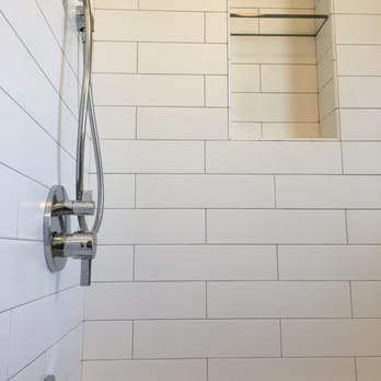 Subway Tile 4 X 16 Shampoo Niche W Gl Shelf Yelp