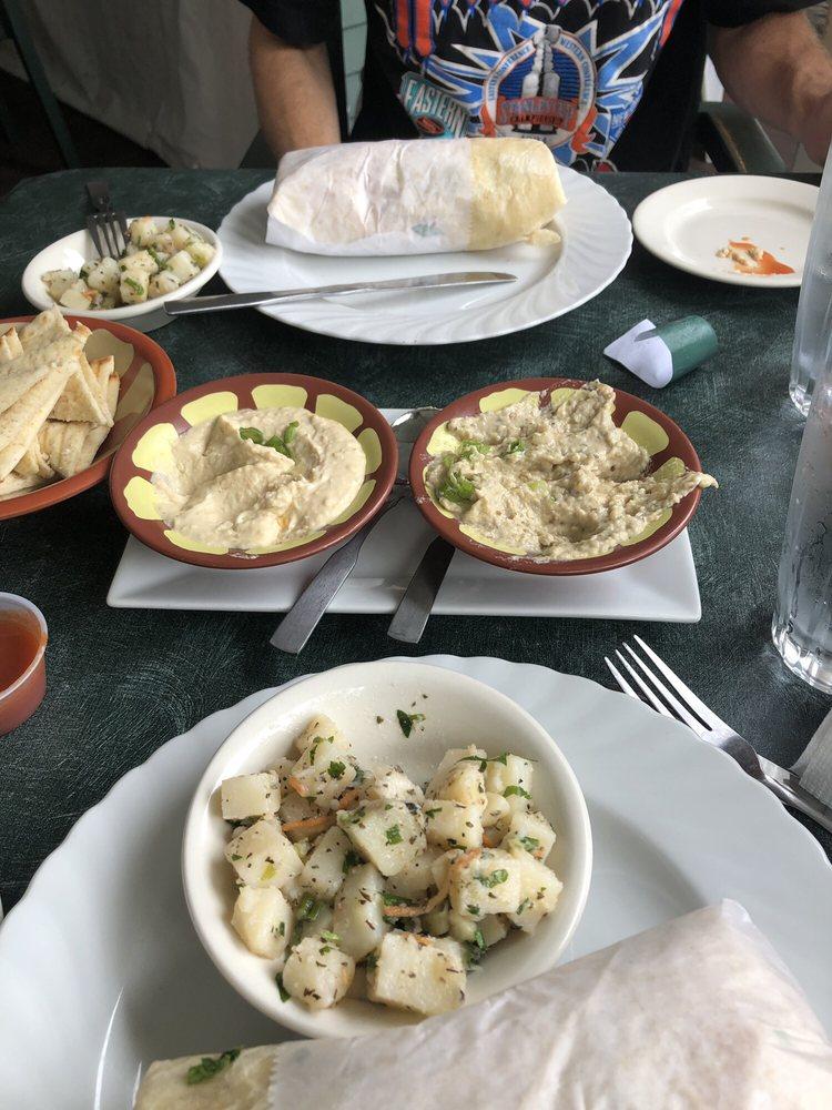 Food from Naji's Lebanese Restaurant