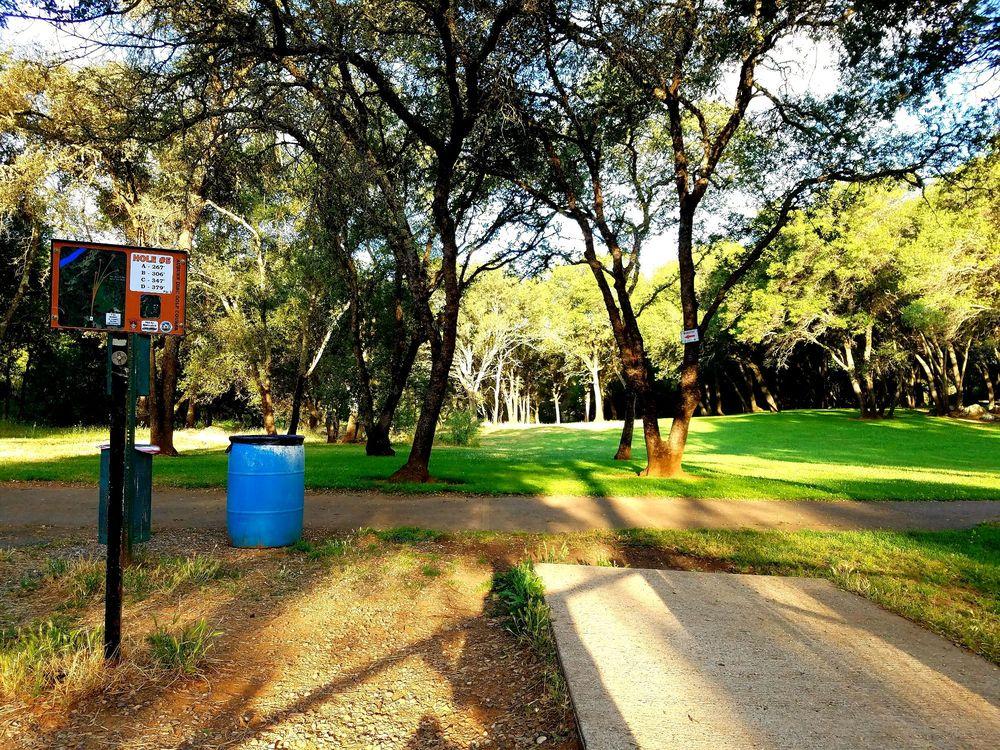 Photo of Regional Park - Auburn, CA, United States. Hole 5    double mando    Auburn Regional DGC