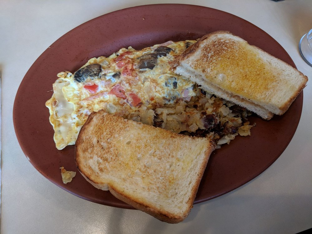 Food from Pete's Legacy Diner