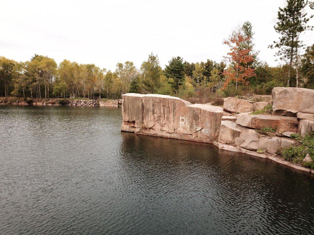 Redgranite Quarry Park: Division St And Hwy 21, Redgranite, WI