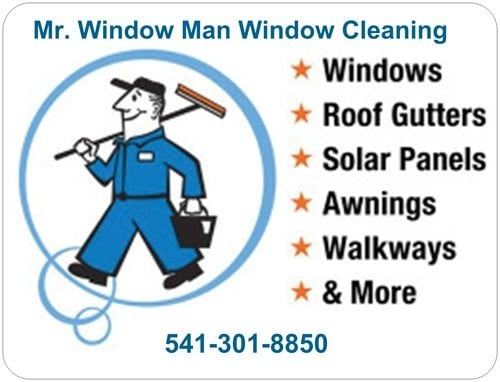 Mr Window Man Window Cleaning: 7515 Gladstone Ave, White City, OR