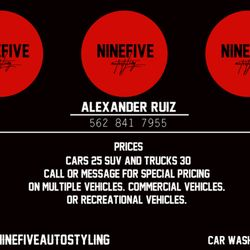 Nine Five Mobile Carwash - Request a Quote - 23 Photos - Car