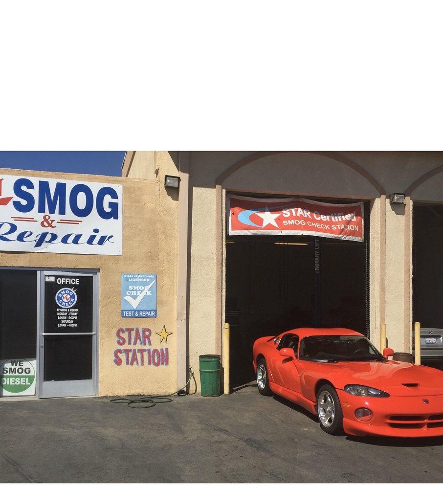 AV Smog And Repair: 4332 W Ave L, Lancaster, CA
