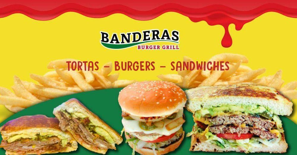 Banderas Burger Grill: 8331 Kern Canyon Rd, Bakersfield, CA