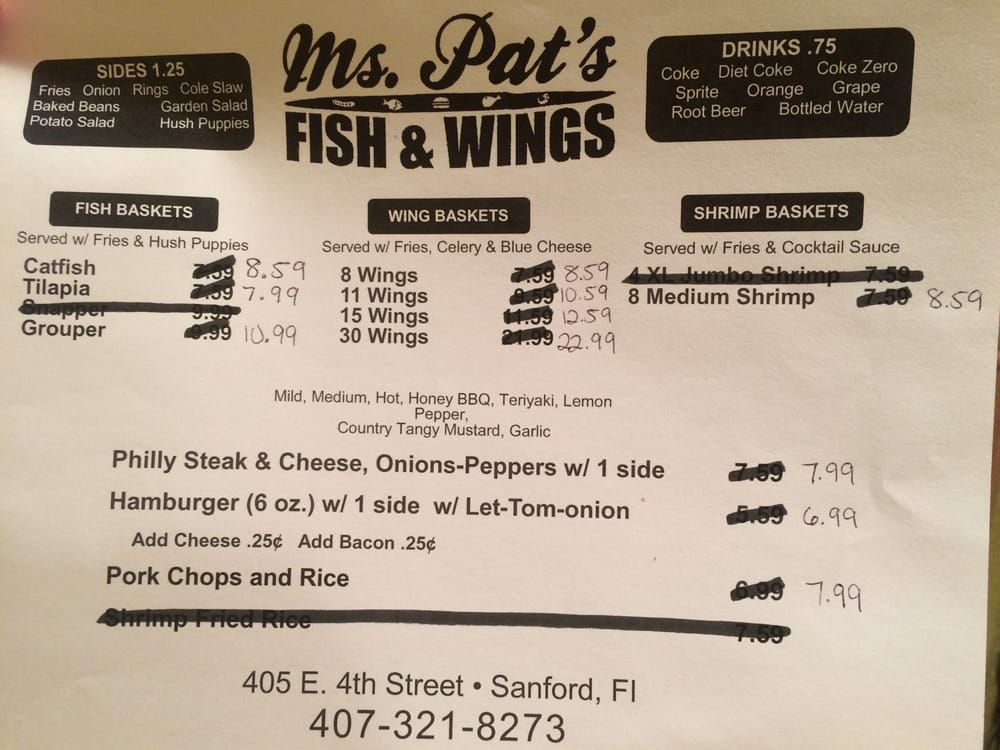 Ms pat s fish and wings cerrado 22 fotos y 14 rese as for Fish and wings