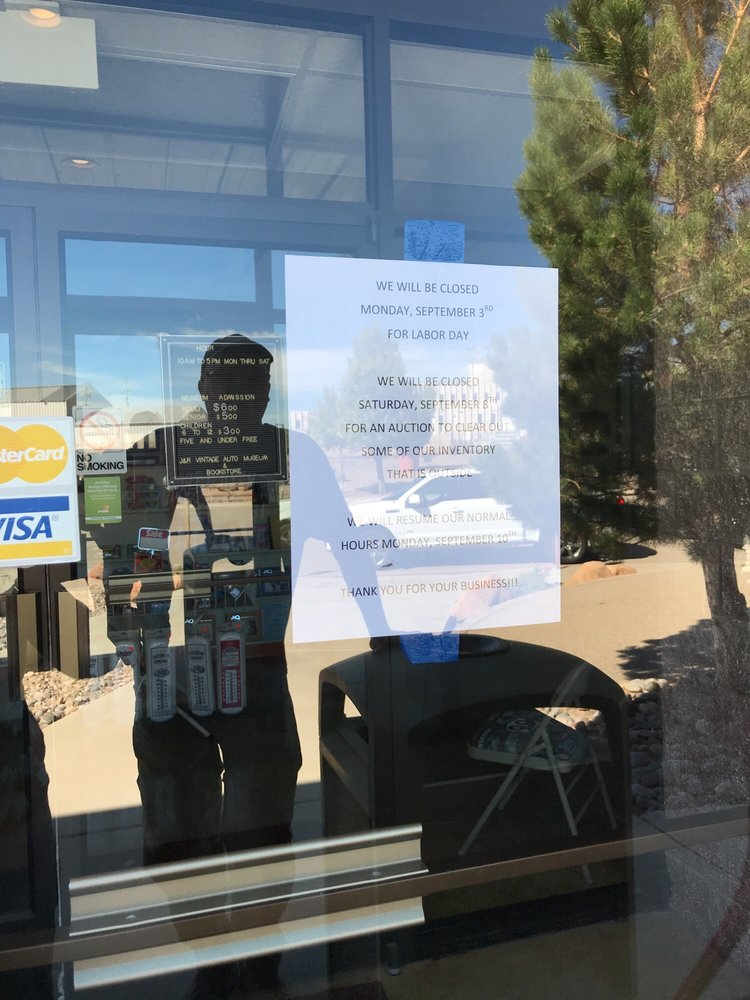 J & R Vintage Auto Museum: 3650 State Highway 528 NE, Rio Rancho, NM