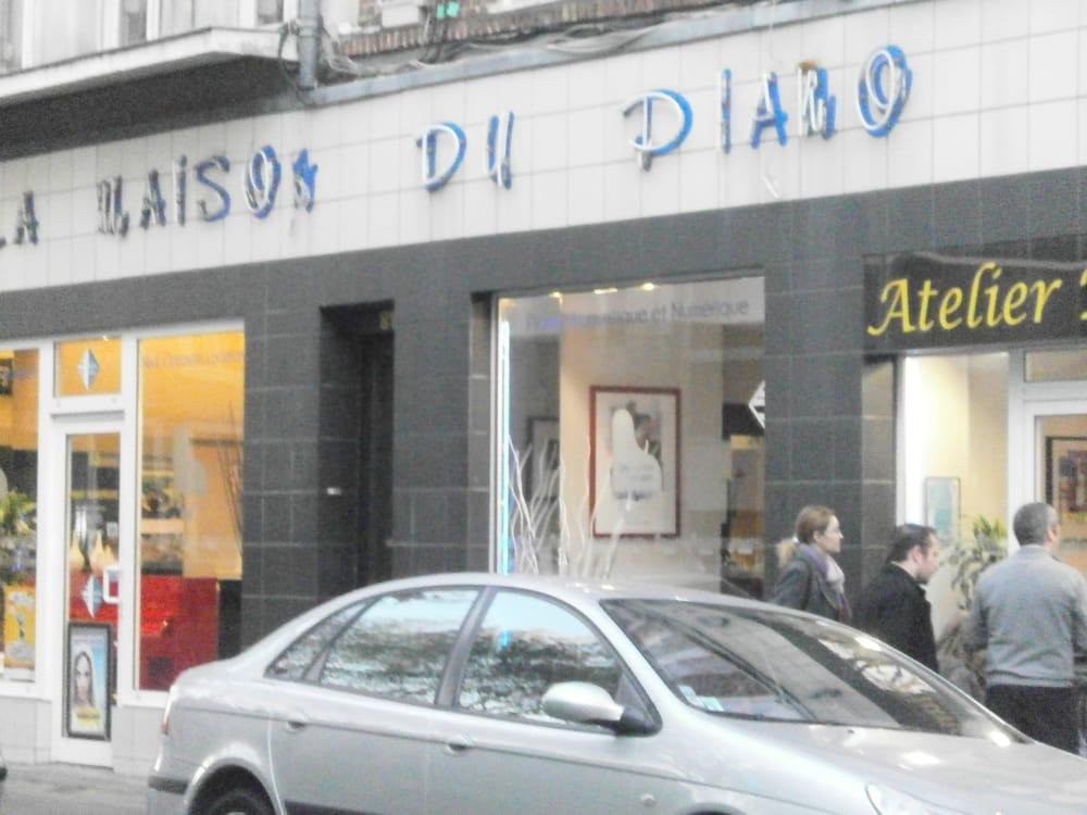 La maison du piano musical instruments teachers 83 for 82 rue brule maison lille
