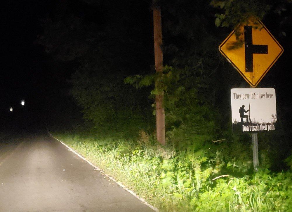 Gravity Hill / Spook Hill: Red Barn & Gapland Rd, Burkittsville, MD