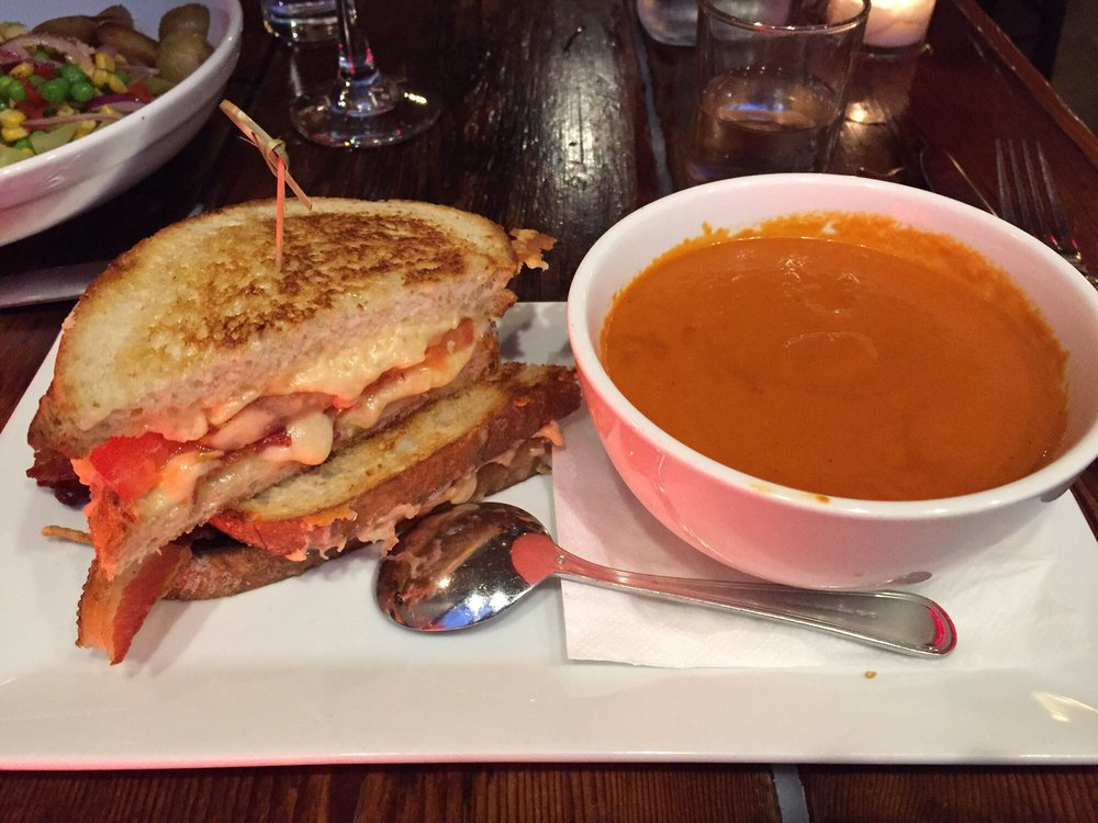 Grilled Cheese Smoked Tomato Bisque This Was Absolutely Amazing