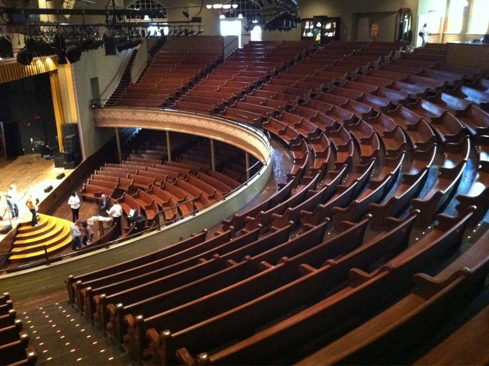 ryman seating chart: Ryman auditorium seating chart yelp