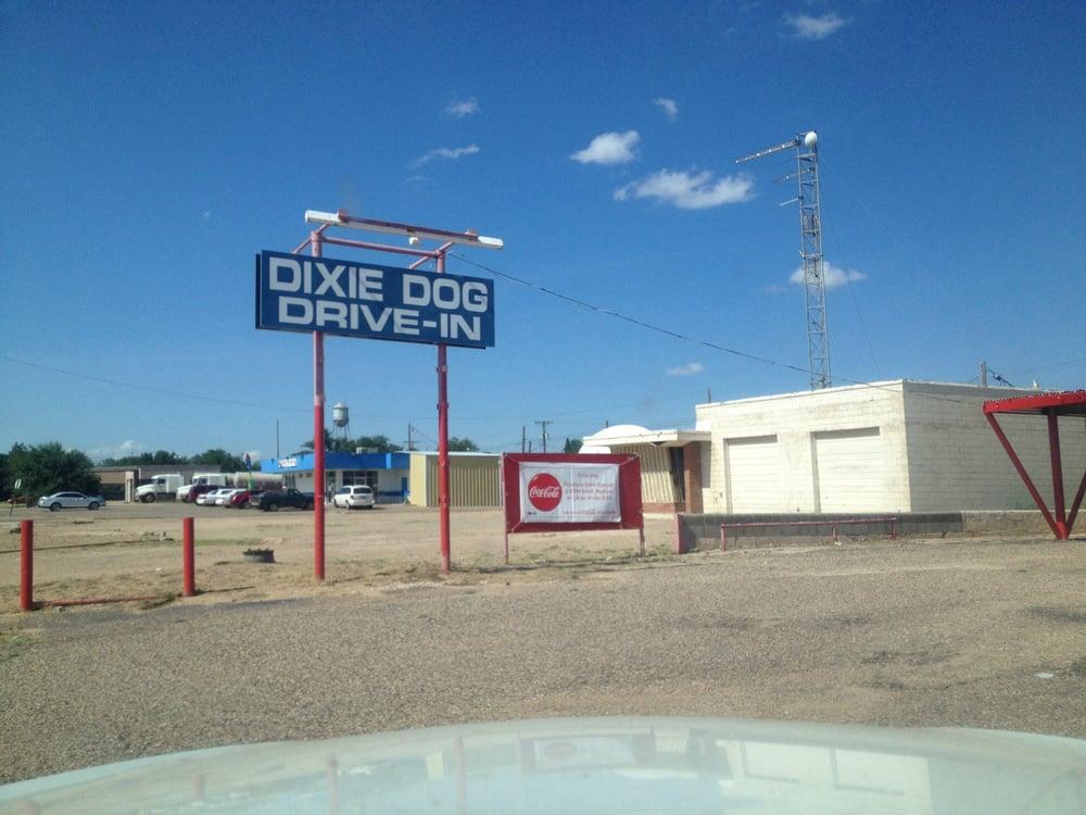 Dixie Dog Drive In: 1802 Main, Tahoka, TX