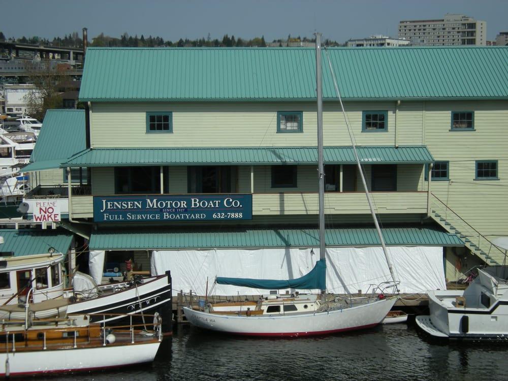 Jensen Motor Boat Corporation Boat Repair 1417 Ne Boat