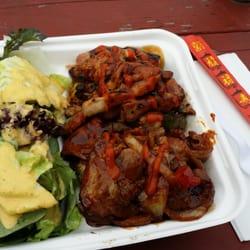 Photo Of Korean Bbq Box Portland Or United States Chicken And Pork