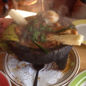 Photo Of Los Tres Hermanos Restaurant San Fernando Ca United States Molcajete