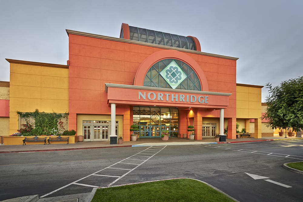 Northridge Mall, located in Salinas, California, serves as Monterey County's largest shopping mall. The single-story structure encompasses , sq ft (90, m 2) of retail space and features more than shops, two restaurants, a fast-food court with eight outlets, and four department stores including Sears, JCPenney, Macy's, and Forever Opening date: