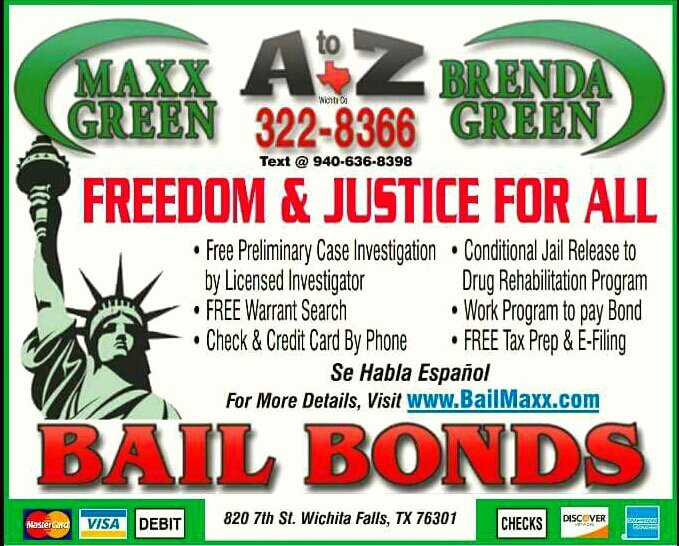 Bonds Bail Brenda Green: 820 7th St, Wichita Falls, TX