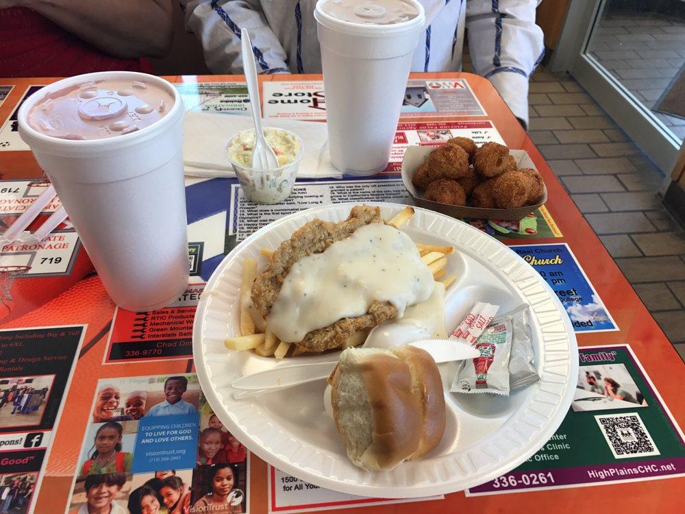 Bj's Burger & Beverage: 1510 S Main St, Lamar, CO