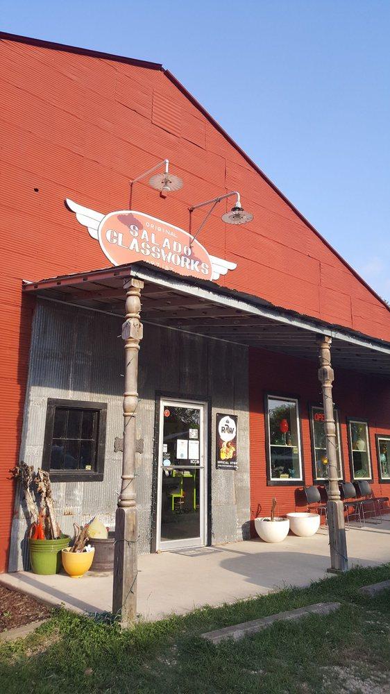 Salado Glassworks: 2 Peddler's Aly, Salado, TX
