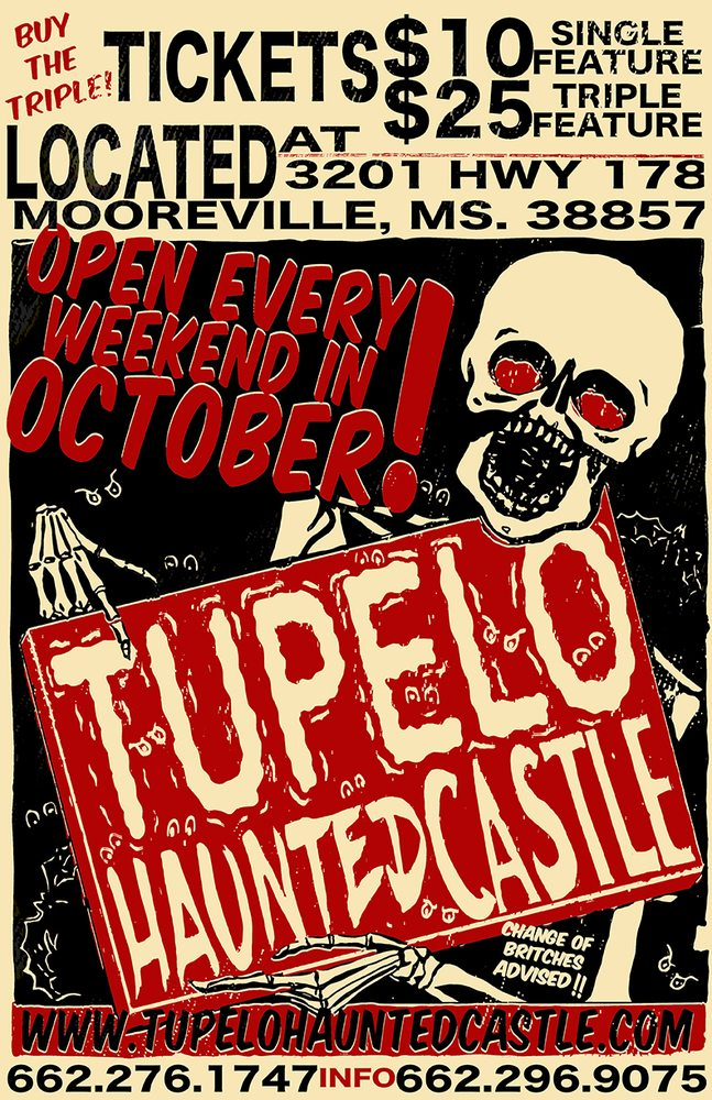 The Tupelo Haunted Castle: 3210 MS-178, Mooreville, MS