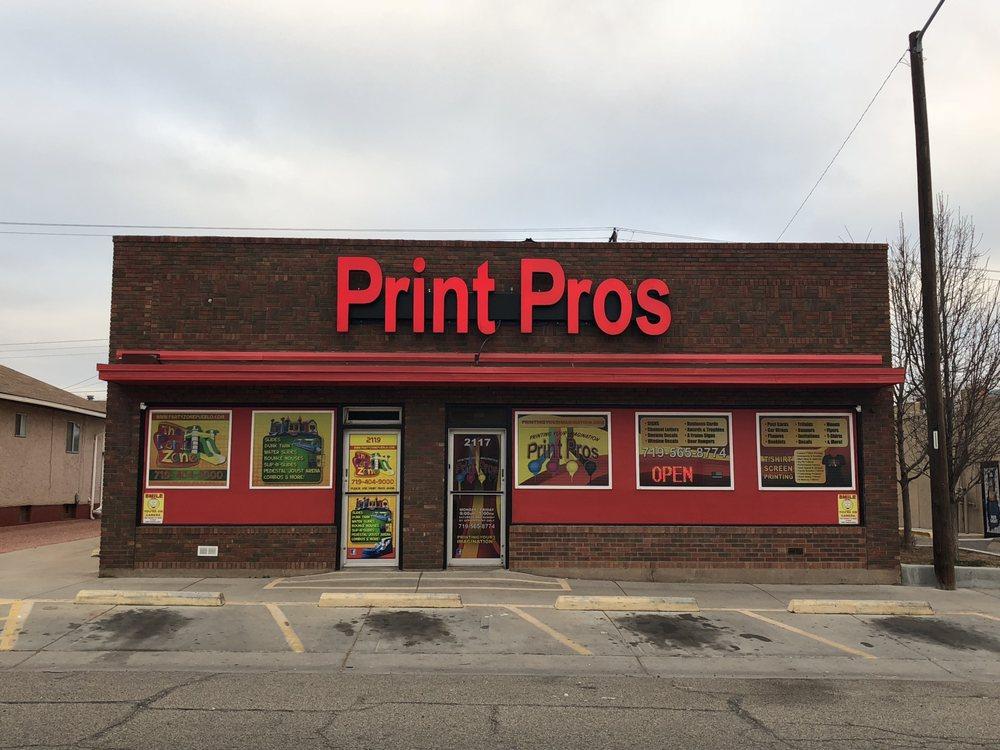Print Pros: 2117 E Evans Ave, Pueblo, CO