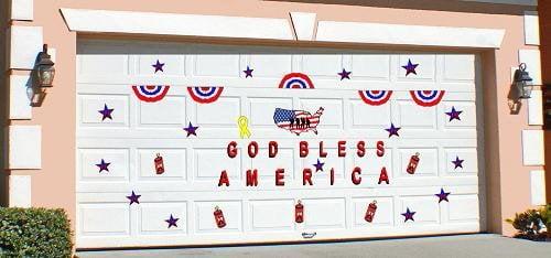Magnetic garage door decorations yelp