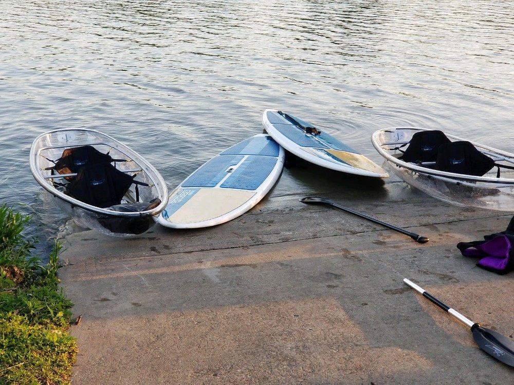Clear Boy Kayaking