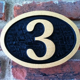 Photo Of The Carving Company Mount Laurel Nj United States Custom Carved House Number Plaque