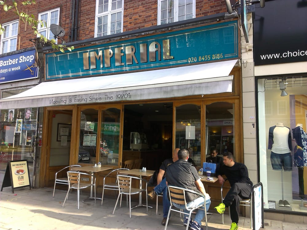 Cafe imperial caf y t 76 golders green road golders - Cyberdog london reino unido ...