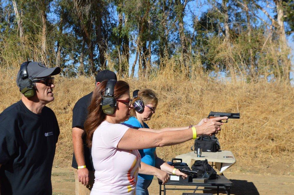 Confidence Firearms Training: Esparto, CA