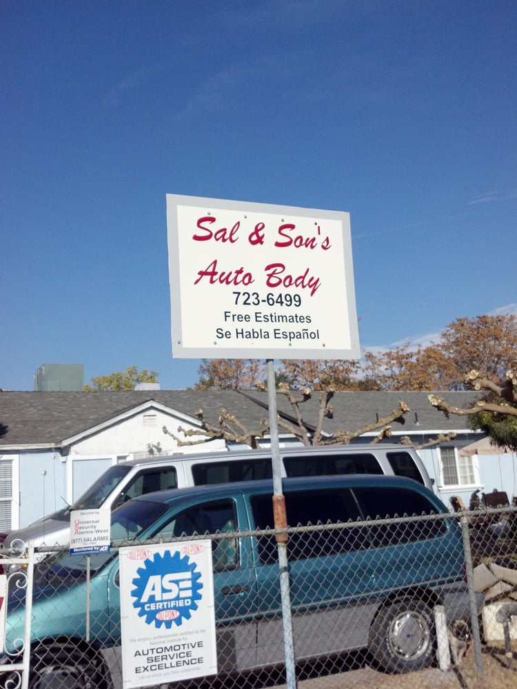 Sal and Son's Auto Body & Paint: 3880 E State Hwy 140, Merced, CA