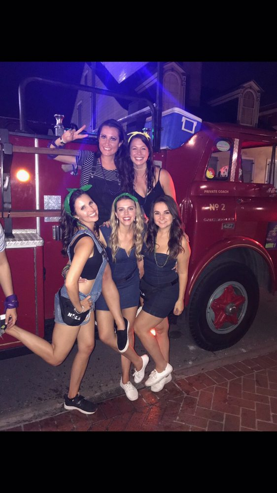 Gator 1 Party Fire Engine/Mr Bucks Party Bus