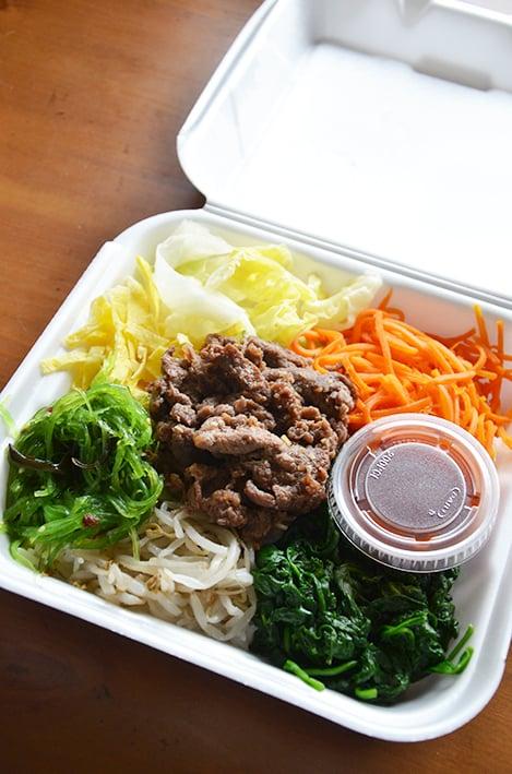 Bibimbap yelp for Akane japanese fusion cuisine