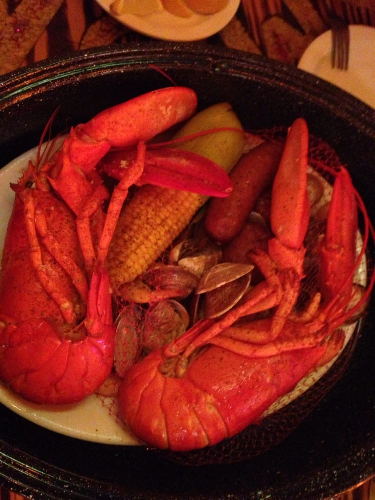 Bean Pot With Two Lobsters Yelp
