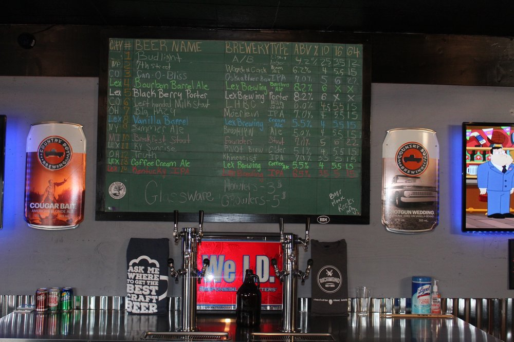 Richmond Beer House: 218 S Porter, Richmond, KY