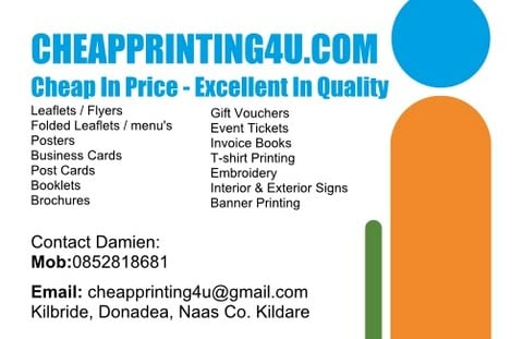 Cheapprinting4u printing photocopying naas kildare phone photo for cheapprinting4u reheart Image collections