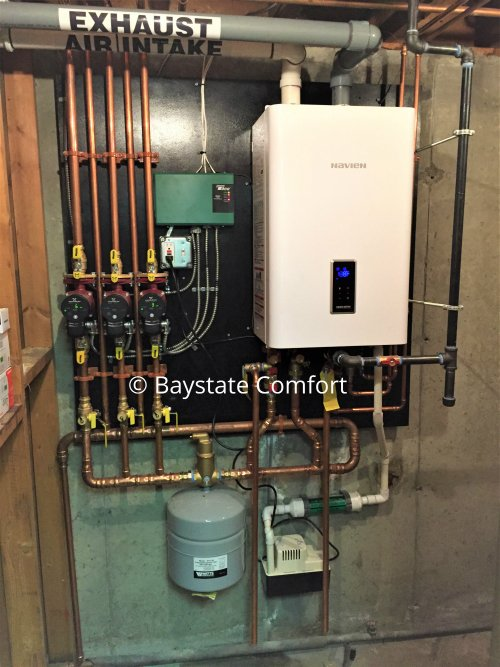 Navien NCB-210 Combi Boiler Installation - Yelp