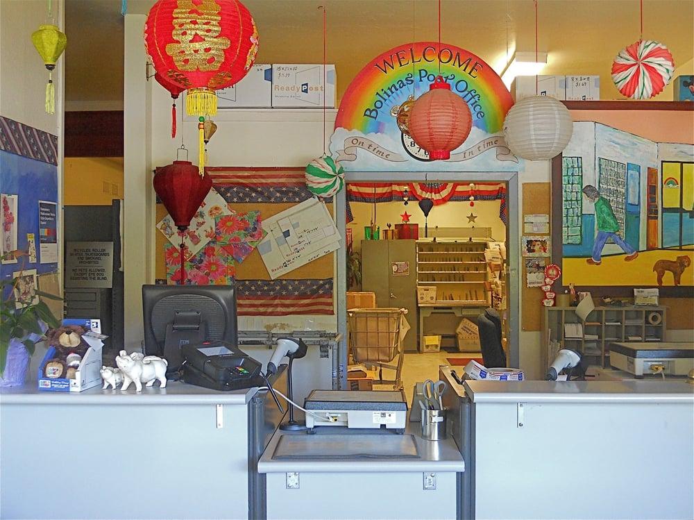 US Post Office: 20 Brighton Ave, Bolinas, CA