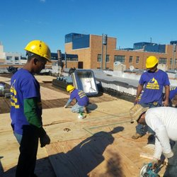 Photo Of Goldenberg Roofing   Brooklyn, NY, United States. All New Ply Wood