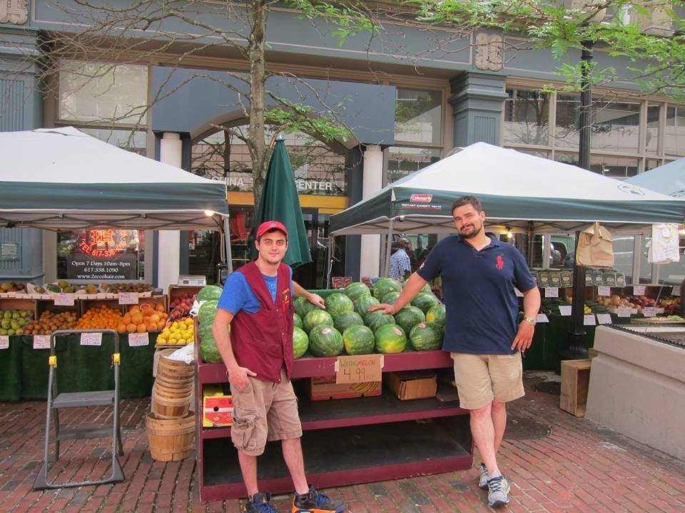 Lambert's Fruitstand: 2 Boylston St, Boston, MA