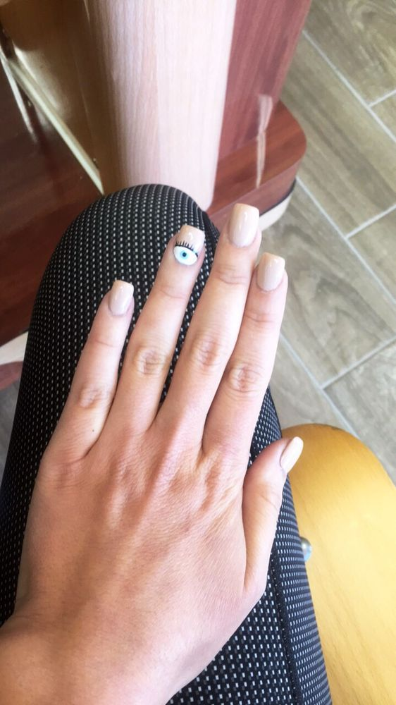 Obsessed with my evil eye design!!! - Yelp