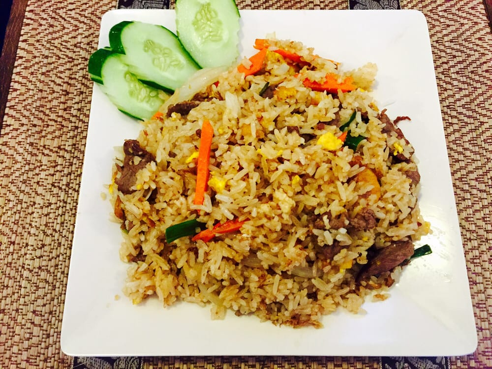 Thai Fried Rice with Beef! - Yelp