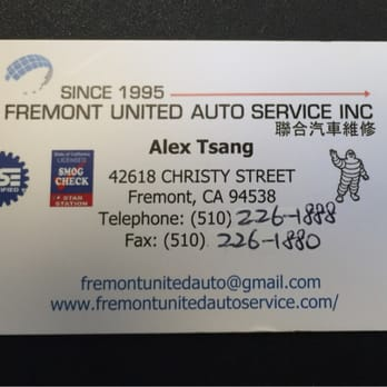 Fremont united auto service 17 photos 24 reviews for Fremont motors service department