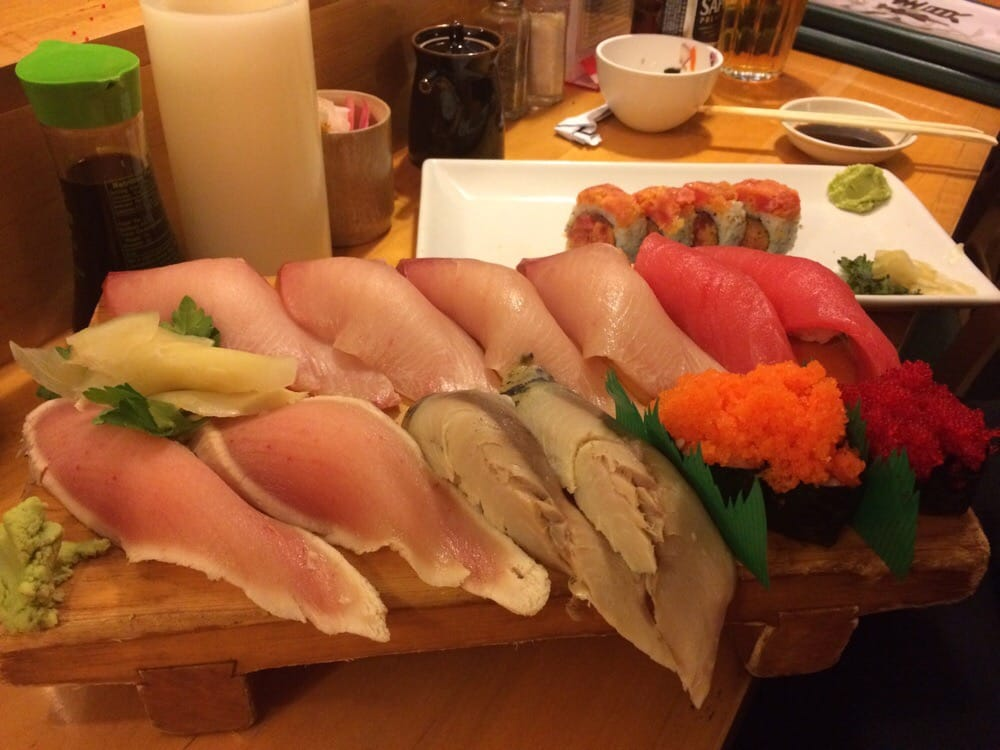 Amazing big and thicker sushi yelp for Asaka japanese cuisine